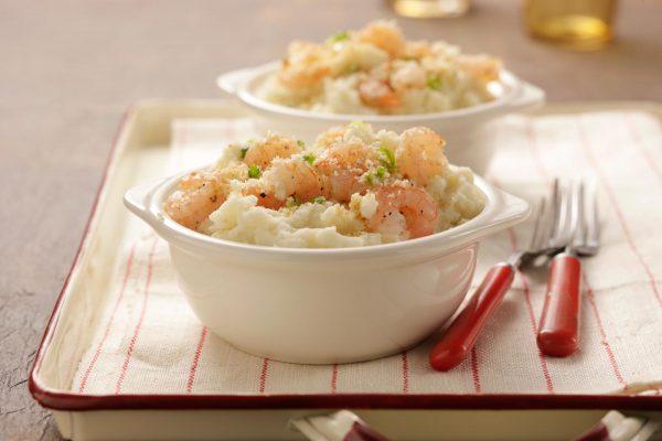 Shrimpy Mashed Potatoes