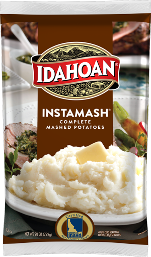 Idahoan InstaMash Complete Mashed Potatoes Pouch