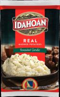Idahoan REAL Mashed Potatoes Roasted Garlic Pouch