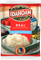 Idahoan REAL mashed Potatoes Low Sodium with Vitamin C Pouch