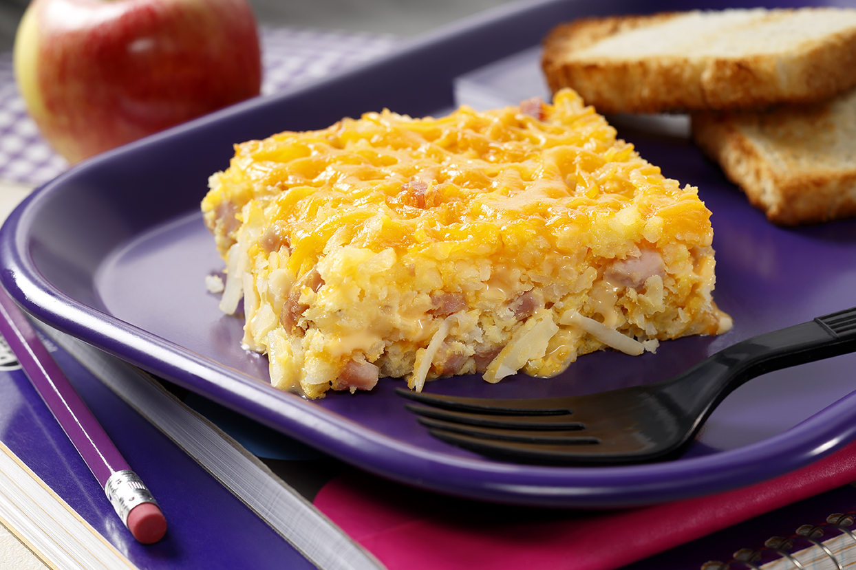 Ham, Egg and Cheese Hash Brown Casserole | Idahoan ...
