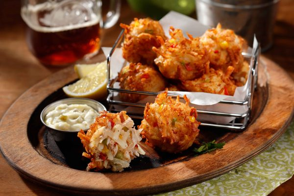 Tater Tumblers Crab with beer