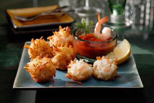 Tater Tumblers Shrimp Dish