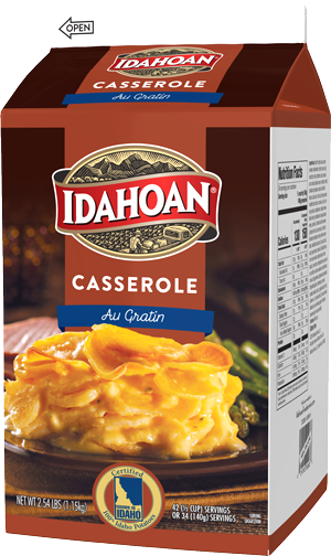 Idahoan Au Gratin Potatoes Carton