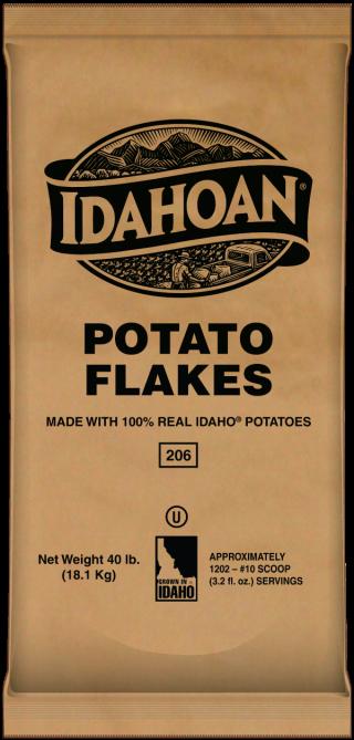 Potato Flakes 40 lb bag