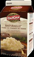 Idahoan Naturally Mashed Potatoes Carton