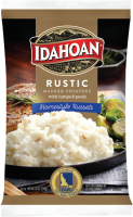 Idahoan Rustic Mashed Potatoes Homestyle Russets Pouch