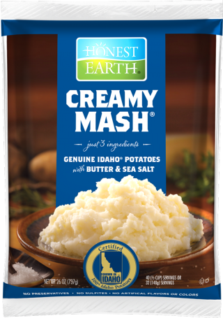 idahoan Creamy Mash with Butter and Sea Salt Pouch