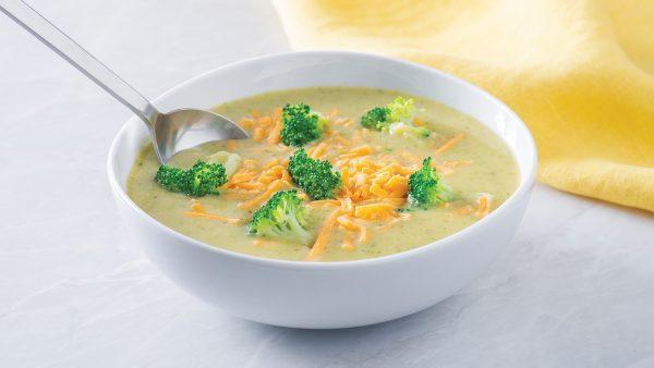 Loaded Potato Broccoli and Cheddar Soup
