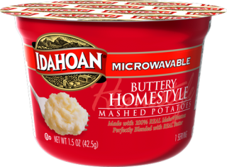 Microwavable Buttery Homestyle Mashed Potatoes