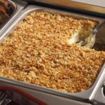 Crunchy Cheesy Baked Mashed Potatoes